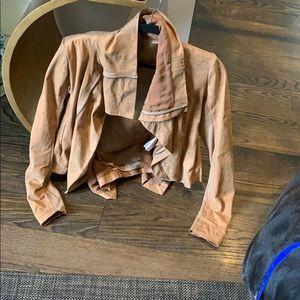 Rick Owens Suede Honey Jacket